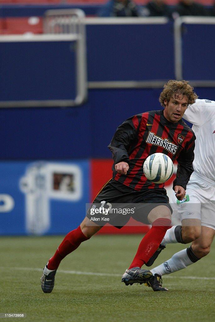 MLS - New England Revolution vs New York/New Jersey MetroStars - April 25, 2004