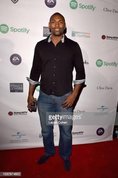 Metta World Peace attends 2018 Songs of Hope Presented By Spotify on September 13, 2018 in Sherman Oaks, California.