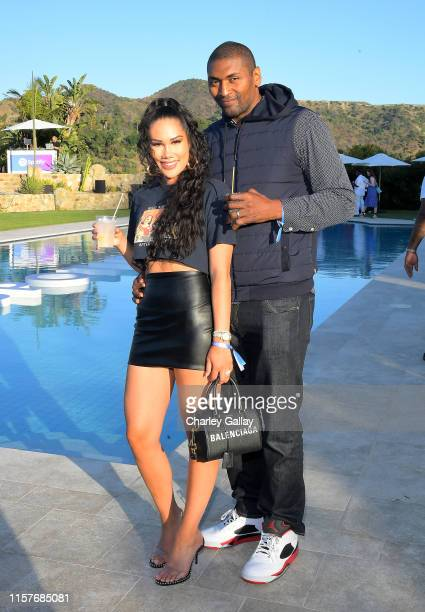 Metta World Peace attends the Spotify Cookout on June 22, 2019 in Los Angeles, California.
