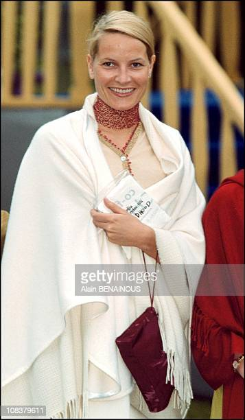 Mette Marit in Sweden on June 19 2001