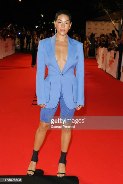 Mette Towley attends the Hustlers premiere during the 2019 Toronto International Film Festival at Roy Thomson Hall on September 07 2019 in Toronto...
