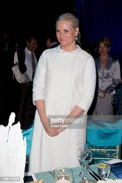 MetteMarit Crown Princess of Norway attends the OTC dinner at Reliant Stadium during day one of their five day offficial visit to the USA on May 5...