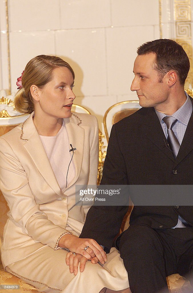 Mette-Marit Tjessem and HRH Crown Prince Haakon Magnus To Be Married August 25, 2001 : News Photo