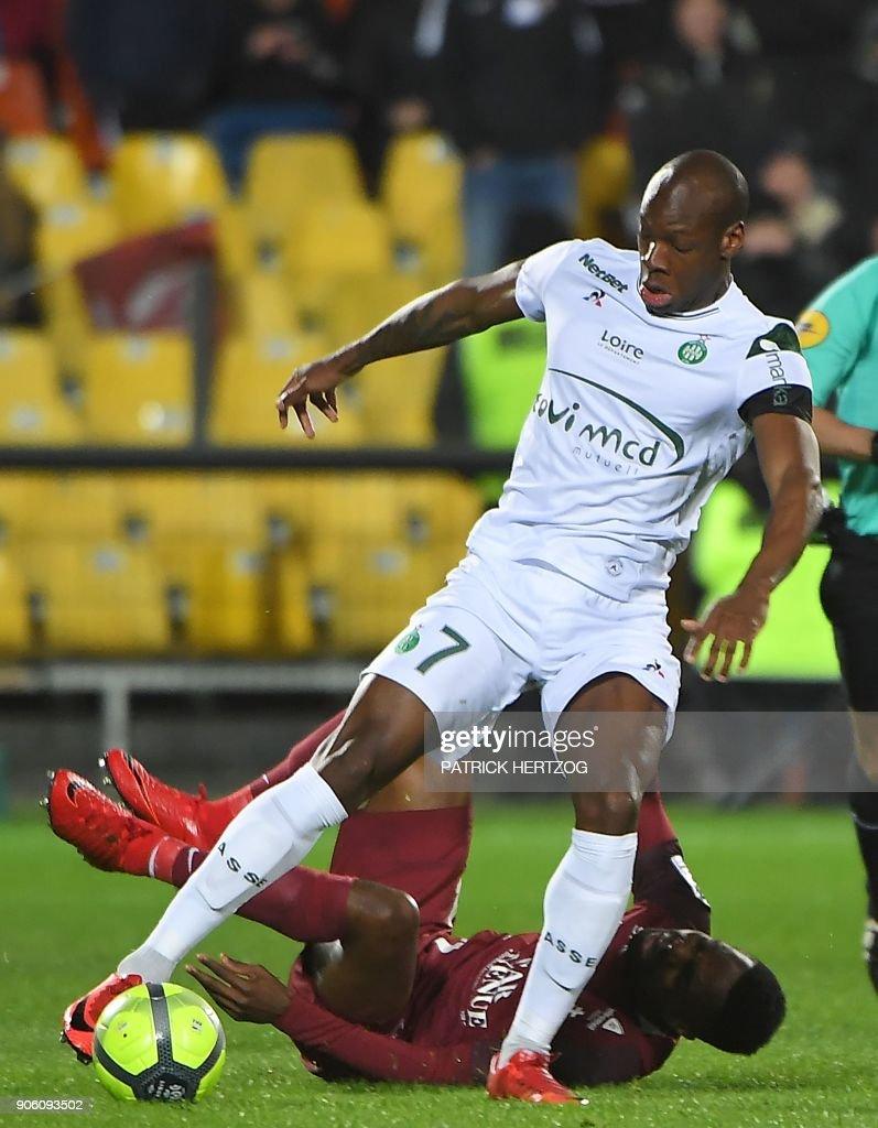 Metz v AS Saint-Etienne - Ligue 1