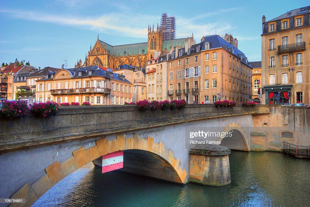 Metz Cathedral : Stock Photo