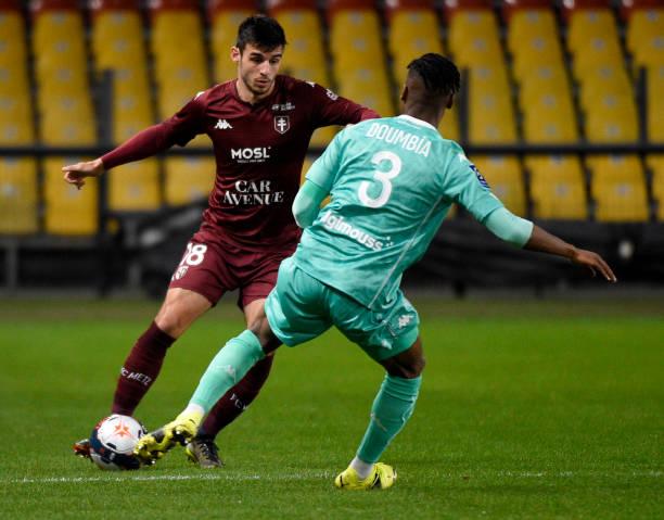 FRA: FC Metz v Angers SCO - Ligue 1