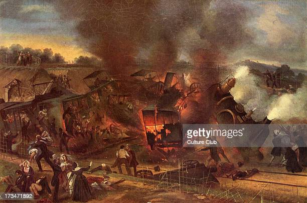 Meudon Rail accident on the Versaille Railway 8 May 1842 first severe railway accident in France took place at Meudon Bellevue on railway between...