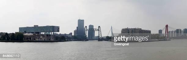 Rivière de la Meuse à Rotterdam