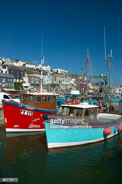mevagissey, cornwall, england, united kingdom, europe - mevagissey stock photos and pictures