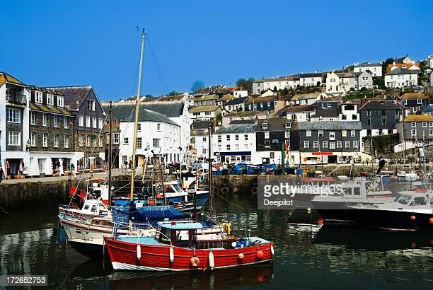 Mevagissey Fishing Village in Cornwall UK