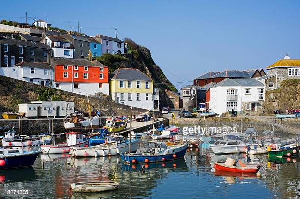 Mevagissey Fishing Village in Cornwall UK