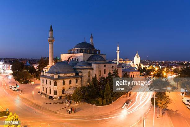 mevlana - selimiye mosque stock pictures, royalty-free photos & images