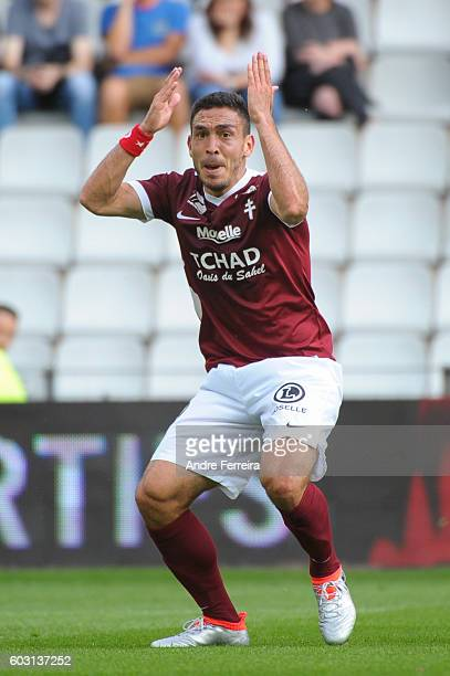 Mevlut Erding of Metz during the French Ligue 1 match between FC Nantes and FC Metz at Stade de la Beaujoire on September 11 2016 in Nantes France