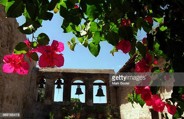 MEWallBells081198MB––––The sagging bricks and mortar of the bell wall at Mission San Juan Capistrano is about to get a much needed facelift The...