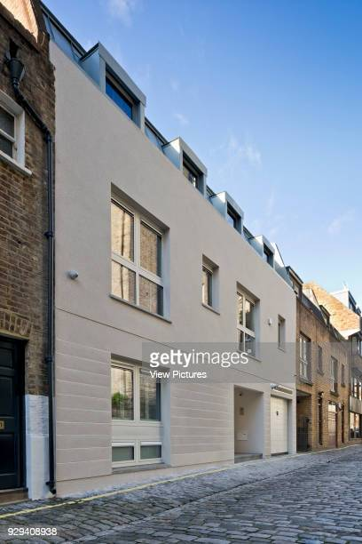Mews House in Chagford Street London Street elevation Mews House Chagford Street London United Kingdom Architect Ayad LTuhafi Architects Ltd 2015