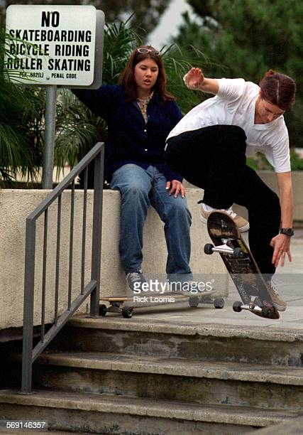 MExgamesBurnside20127RL–Newport Beach– Cara–Beth Burnside a professional snowboarder from Orange competing in the Winter X Games street skateboards...