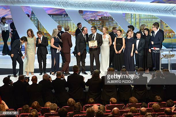 Mexican actor and director Gael Garcia Bernal French actress Carole Bouquet US actor Willem Dafoe New Zealander director and President of the Feature...
