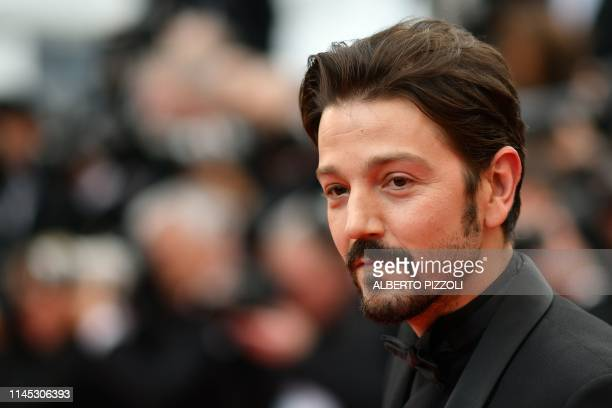 Mexican actor Diego Luna poses as he arrives for the screening of the film La Belle Epoque at the 72nd edition of the Cannes Film Festival in Cannes...