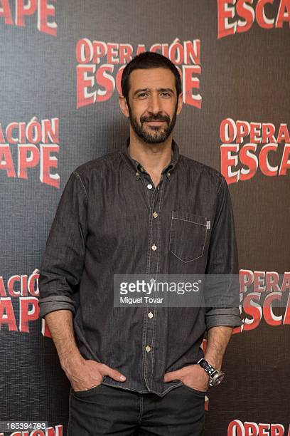 Mexican Actor Jose Maria Yazpik attends the 'Operacio—n Escape' photocall at St Regis Hotel on April 03 2013 in Mexico City Mexico