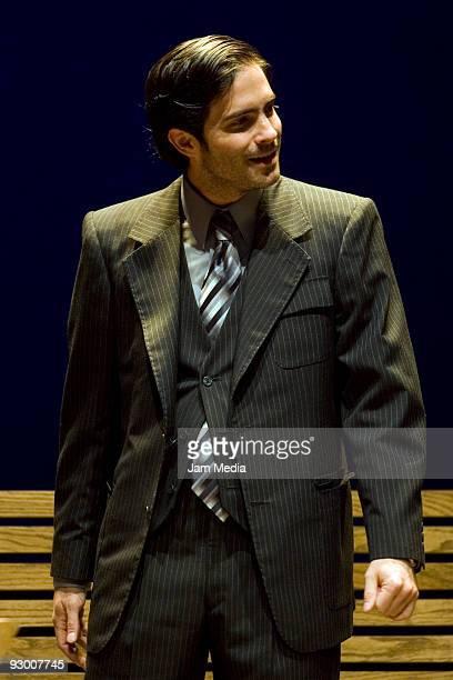 Mexican actor Osvaldo Benavides during the Premiere of the Play ' Todos Eran Mis Hijos of Arthur Miller on November 11 2009 in Mexico City Mexico