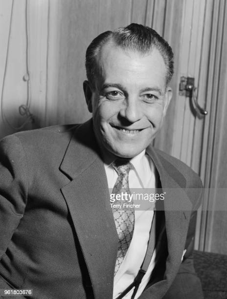 Mexican actor Ramon Novarro at the Savoy Hotel during a visit to London, 18th January 1954.