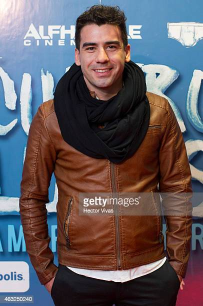 Mexican actor Roberto Quijano attends the red carpet of Mexican movie 'Cuatro Lunas' at Cinepolis Diana on February 2015 in Mexico City Mexico