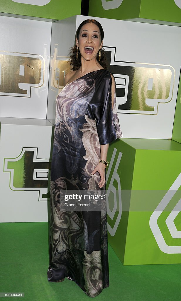Mexican Actress Adriana Lavat to the delivery of the awards 'TP of Gold' for the best presenters, actors and programs of the Spanish televisions, 10 February 2009, 'Palacio de Congresos', Madrid, Spain.