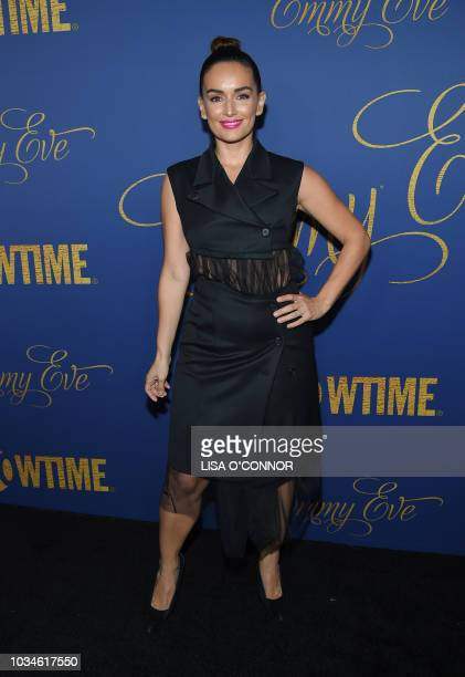 Mexican actress Ana de la Reguera attends the Showtime Emmy Eve Nominees Celebration in Los Angeles on September 16 2018
