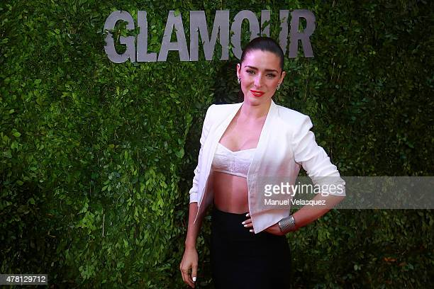 Mexican actress Ariadne Diaz attends Hot Pursuit film red carpet at Cinepolis Plaza Carso Cinema on June 22 2015 in Mexico City Mexico