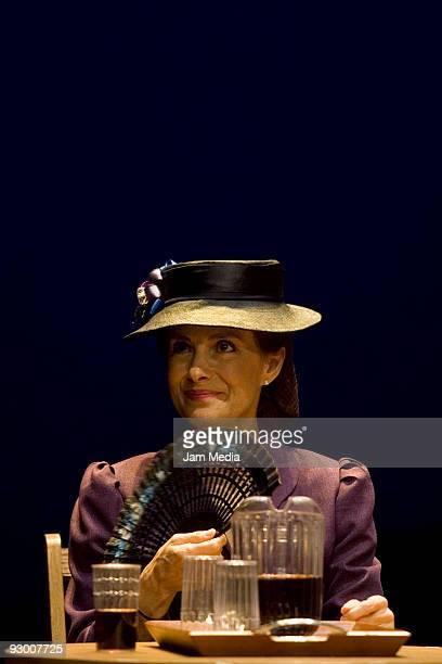 Mexican actress Diana Bracho during the Premiere of the Play ' Todos Eran Mis Hijos« of Arthur Miller on November 11 2009 in Mexico City Mexico