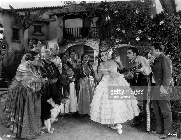 Mexican actress Dolores Del Rio formerly Dolores Asunsolo plays the title role in 'Ramona' directed by Edwin Carewe for United Artists
