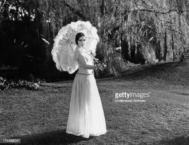 Mexican actress Dolores del Rio in the film, 'High Steppers', California, 1926.
