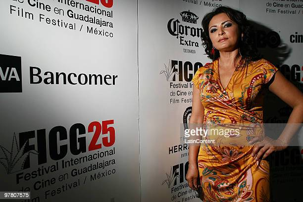 Mexican actress Elpidia Carrillo during the press conference of the movie Mother and Child at Fiesta Americana Hotel as part of the Guadalajara...