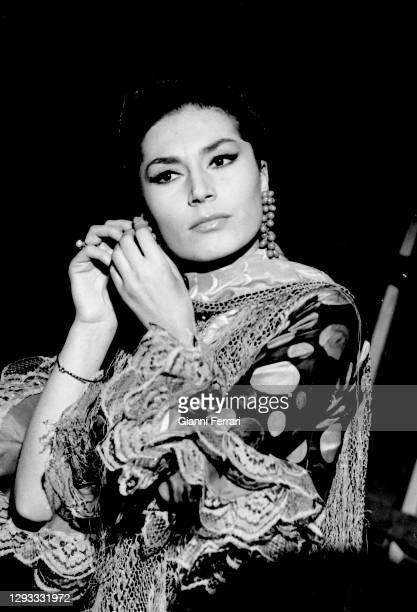 Mexican actress Katy Jurado , Madrid, Spain, 1966.