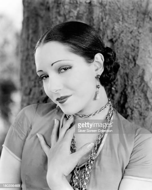 Mexican actress Lupe Velez in a promotional portrait for 'Where East Is East' directed by Tod Browning 1929 Photo by Silver Screen Collection/Getty...