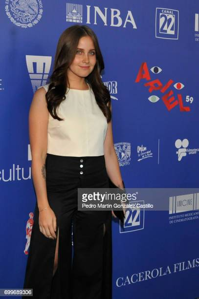 Mexican actress Natasha Dupeyron poses during the 59th Ariel Awards Nominees Event at Fiesta Americana Hotel on June 21 2017 in Mexico City Mexico