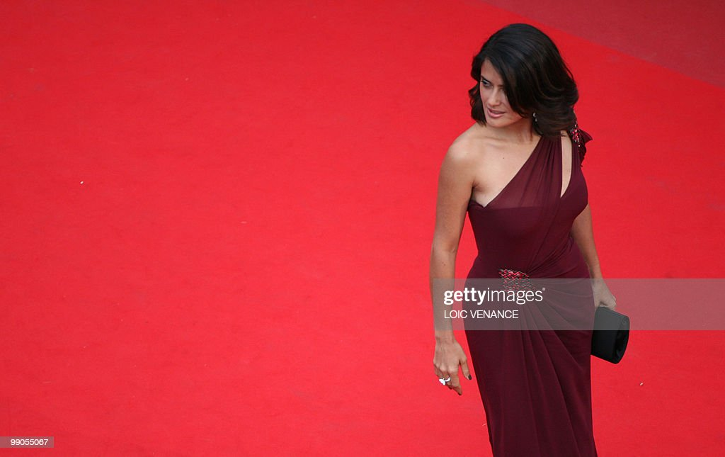 Mexican actress Salma Hayek arrives for the opening ...