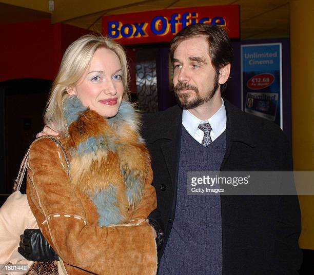 Mexican Ambassador Augustine Basave and an unidentified companion attend the premiere of Frida at UGC February 17 2003 Dublin Ireland