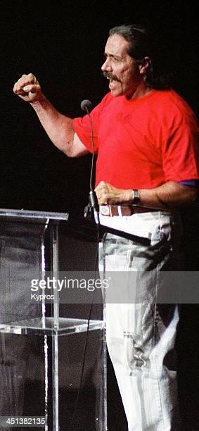 Mexican American actor Edward James Olmos, circa 1990.