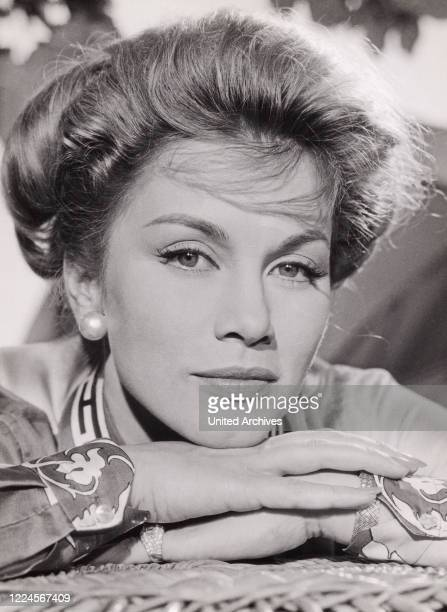 Mexican American actress Linda Christian Germany circa 1963