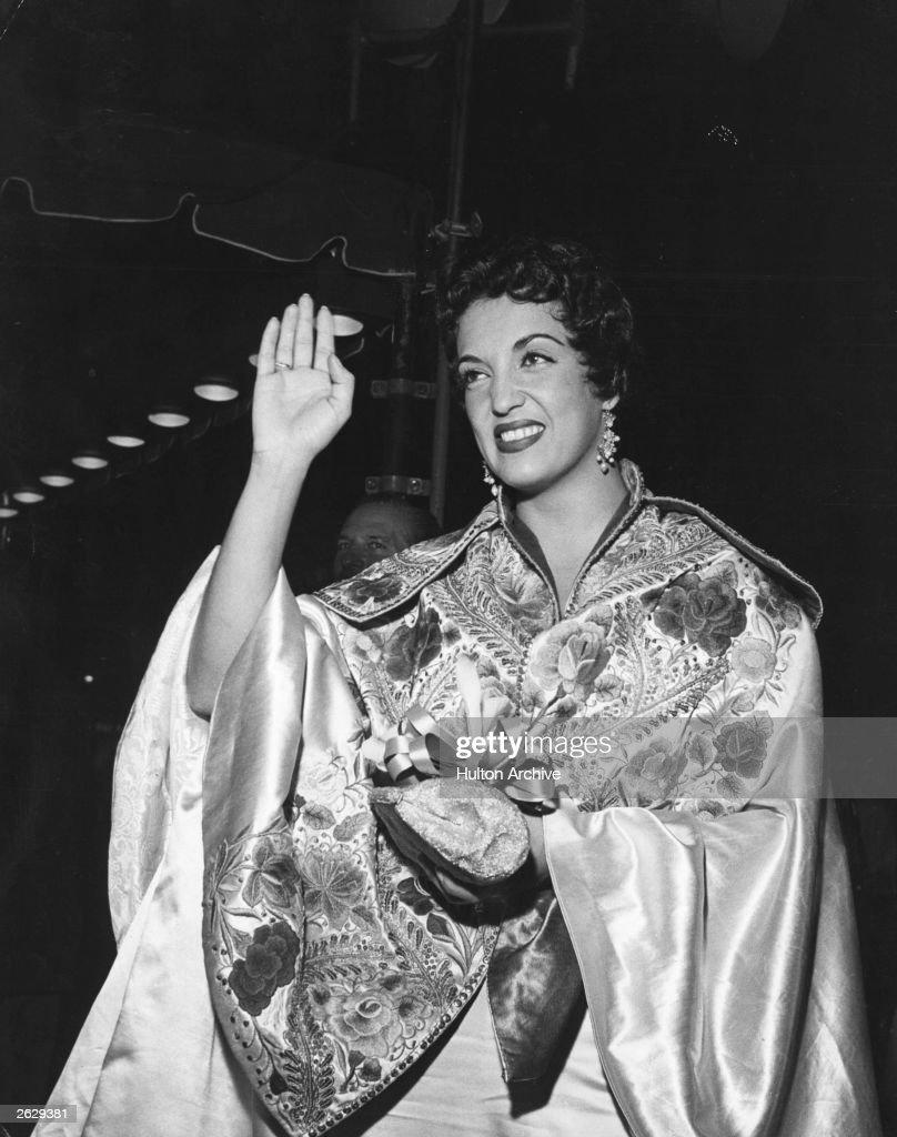 Mexican born film actress Katy Jurado (1924 - 2002).