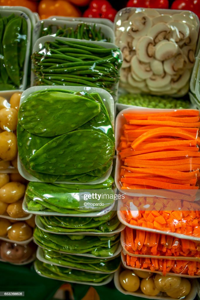 Mexican Cactus or Nopal for Mexican food : Stock Photo