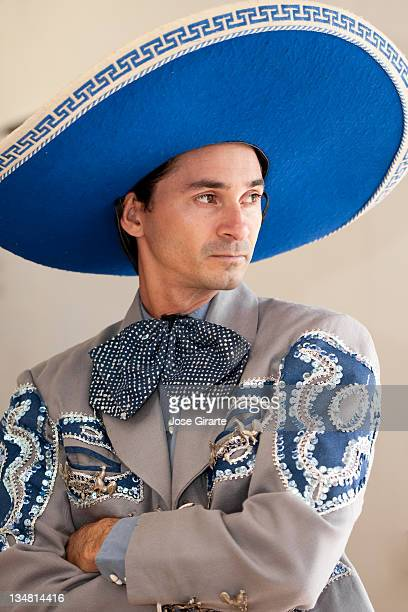 mexican charro portrait - mexican fiesta stock pictures, royalty-free photos & images