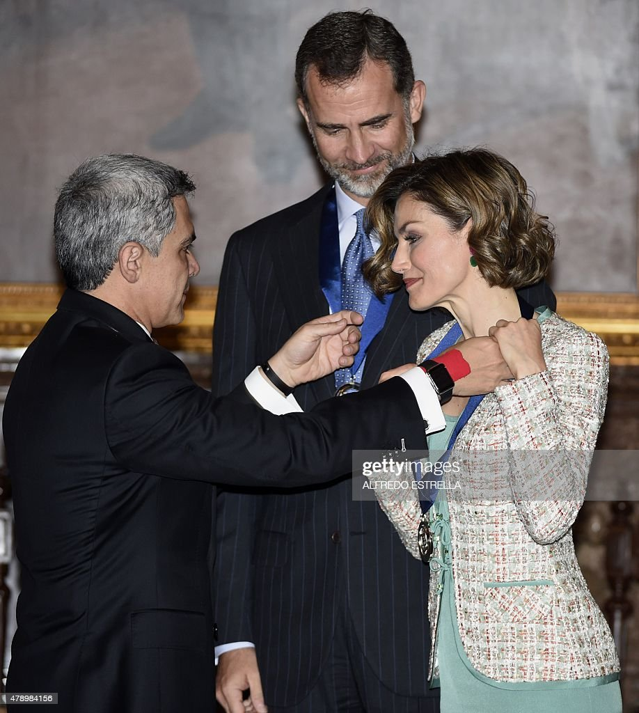 MEXICO-SPAIN-MANCERA-ROYALS : News Photo