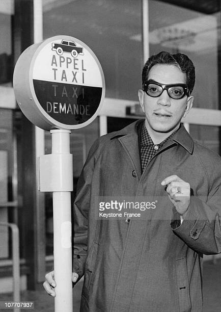 Mexican Comedian Cantinflas On Passepartout Who Embodied In The Film Mike Todd Around The World In 80 Days By Al Visiting Paris Occasion Of The...