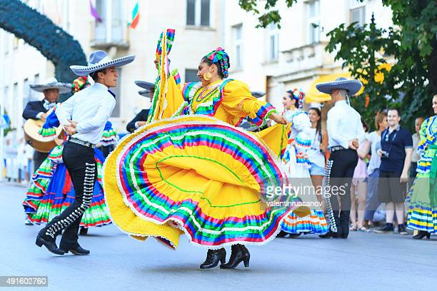 Mexican dancers on festival