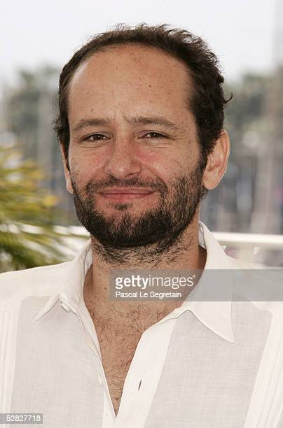 Mexican director Carlos Reygadas attends a photocall promoting the film Batalla En El Cielo at the Palais during the 58th International Cannes Film...