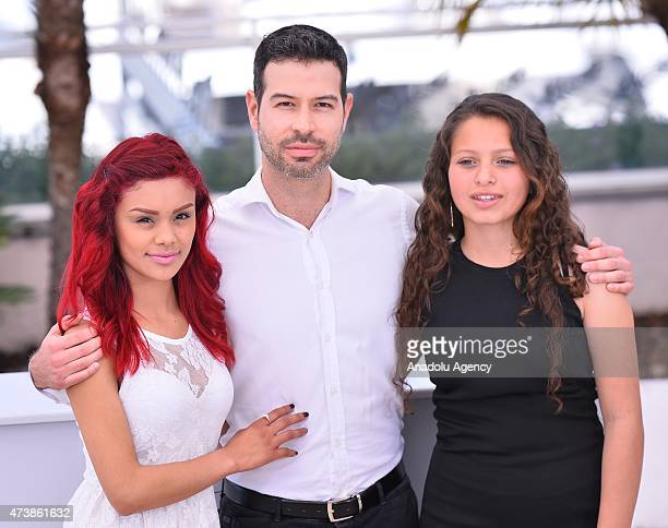 Mexican director David Pablos Mexican actress Nancy Talamantes and Mexican actress Leidi Gutierrez pose during the photocall for the film 'Las...