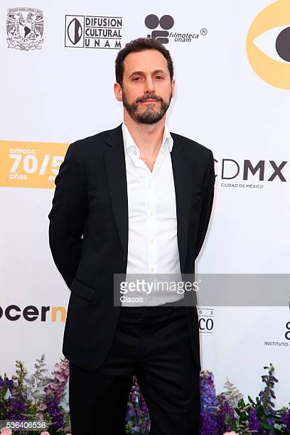 Mexican director Gabriel Ripstein attends the red carpet of Premios Ariel 2016 at Nacional Auditorium on May 17 2016 in Mexico City Mexico