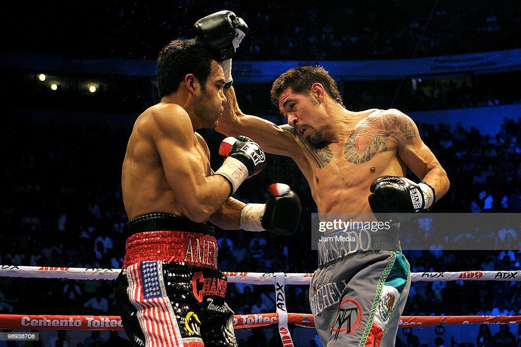 WBC Continental Super Welterweight Title - Antonio Margarito v Roberto Garcia : News Photo